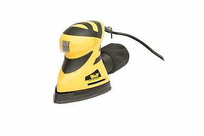 Wolf 180W Detail Sander 240v 3in1 Multi Function Dual Action Mouse Palm Sander