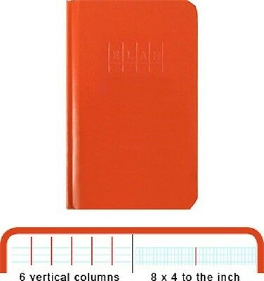New Engineers Field Book Standard - Standard Size 8x4 - Set of 4