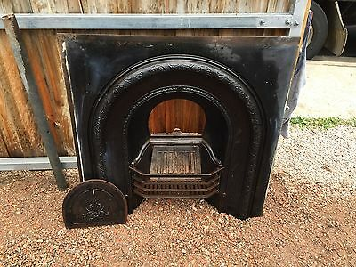 Cast Iron Fireplace Victorian Style