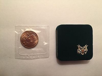 Vintage President George H.W. Bush Sr. Inauguration Medal Coin Token with Case!