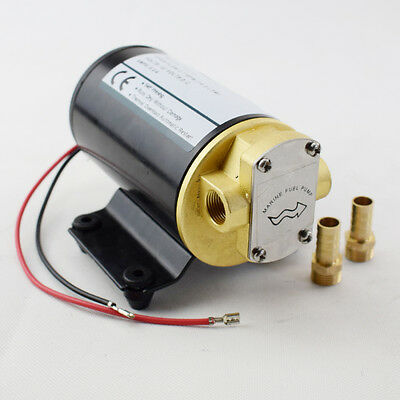 12V Electric Oil Pump Diff Cooler Turbo Scavenge Conversion Gear Pump