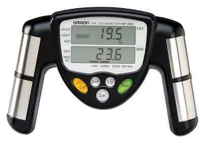 Omron Full Body Composition Monitor with Scale Body Fat Fitness BMI Weight Black