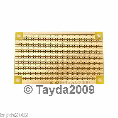 5 x Prototyping PCB Circuit Board Stripboard Veroboard 94x53mm Copper Free Ship
