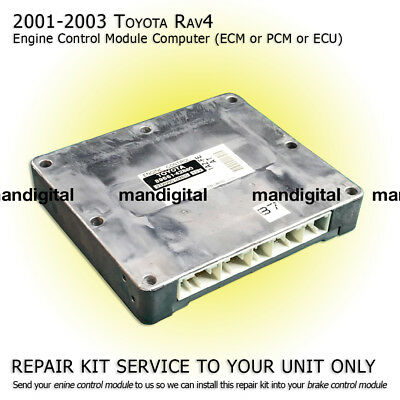 2001 2002 2003 TOYOTA RAV4 Engine Computer Module PCM ECM ECU Repair Service