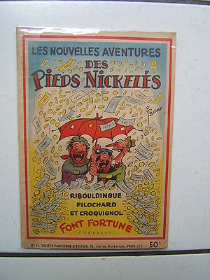 Pellos  / Les Pieds Nickeles 12 / Font Fortune
