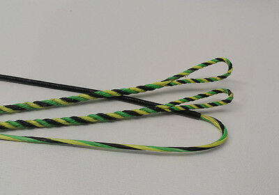 BCY X Flemish Twist Bow String Three Bundle with Halo Center Serving