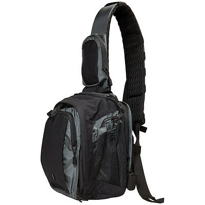 5.11 Tactical Covrt Zone Assault Pack Patrol Shoulder Combat Sling Bag Asphalt