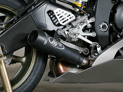 M4 Exhaust Yamaha R6 2006 - 2016 GP GP Mount slip on with BLACK muffler