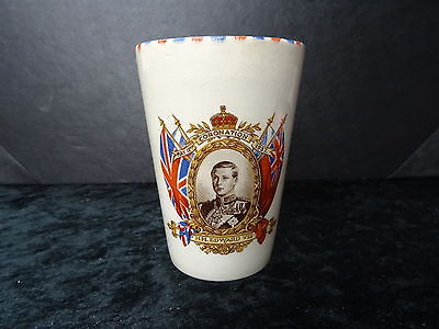 China Commemorative Beaker- 1937 VIII Coronation