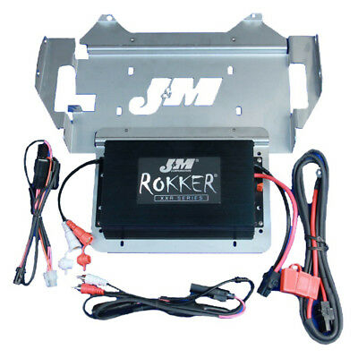 J&M Audio 330 Watt 2 Channel Amp Kit 2014 & Up Harley Ultra Street Glide Trike