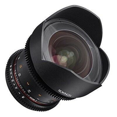 Rokinon Cine DS 14mm T3.1 ED AS IF UMC Full Frame Cine Wide Angle Lens - DS14M-M