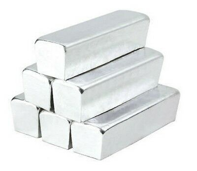 500 grams of 99.99% Pure Indium Bullion Metal Bar Ingot 500g Great Investment!