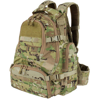 Condor Urban Go Pack Hiking Rucksack Student Travel Backpack 48L Multicam Camo