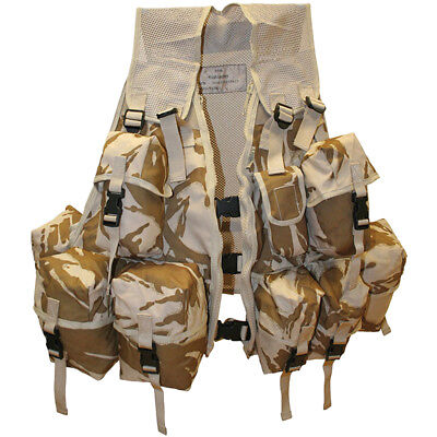 Highlander Army Infantry Tactical Assault Vest Combat British Dpm Desert Camo