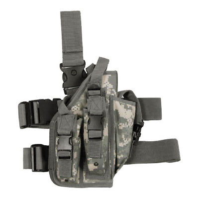Army Tactical Combat Leg Holster 3 Mag Pouches Airsoft Ucp Acu Digital Camo