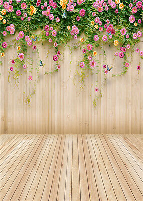 Flower Tree Studio Backdrop Vinyl Photography Photo Background 5x7ft CM404