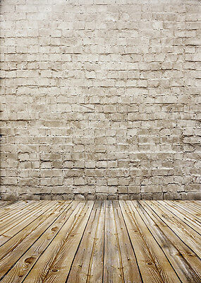Brick Wall Professional Vinyl Photo Studio Backdrop Photography Background 5x7ft