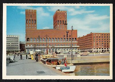 C. 1960s View of the City Hall, Oslo, Norway