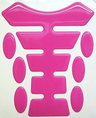 Pink 3d Resin Domed Resin Tank Pad K1 + 6 Oval Pad Protectors