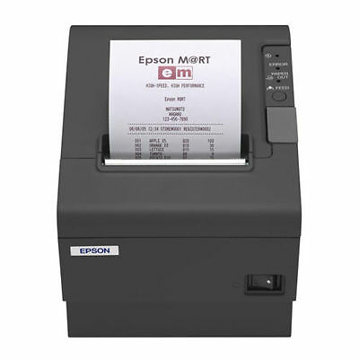 Epson Tm-T88Iv Charcoal Thermal Printer (Serial/rs232)