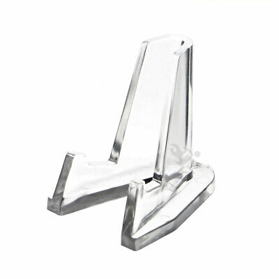 Clear Acrylic Pocket Knife Display Stand Easel Qty 10