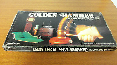 Vintage 1983Board Game - Golden Hammer