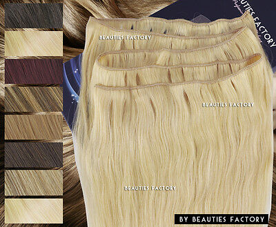 DIY Remy Human Hair Extension Long Skin Weft (No Attachment) Make Your Width