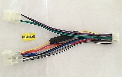 Lot of 5 ECL TWH950 Toyota Car Stereo nj shipping toyota factory radio iso wiring harness adapter twh  at webbmarketing.co