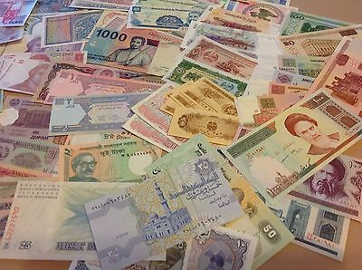 12 Pcs Different Banknotes/ World Paper Money Set/Lot - UNC From Bundle