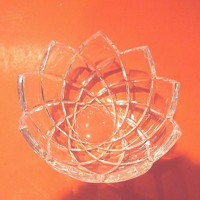 Mikasa Crystal 6 Inch Fluted Candy Dish