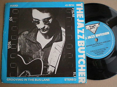 JAZZ BUTCHER Hard UK 45 GLASS RECORDS 1986