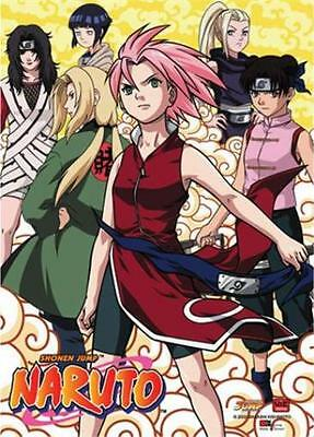 Naruto Girl Power Wall Scroll