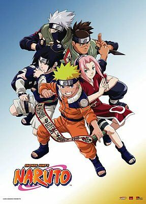Naruto Group Wall Scroll