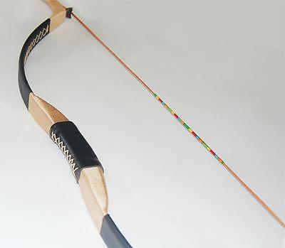 """IRQ Archery Recurve Bowstring Traditional Handmade 51"""" Hunting Target Longbow"""