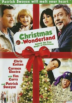 Christmas in Wonderland (DVD, 2009) Patrick Swayze Carmen Electra Tim Curry New