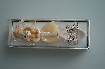 1999 NOS Enesco Cherished Teddies Baby Spoon Hanging Ornament #533335 Orig. Box