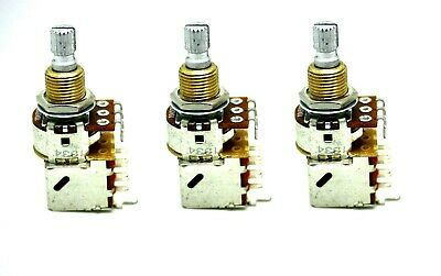 3x BOURNS AUDIO A500K 500K PUSH/PULL CONTROL TONE POT SHORT SHAFT