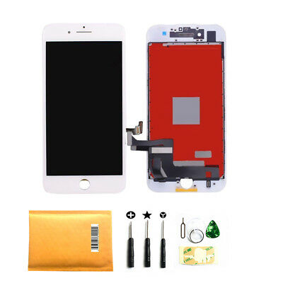 """iPhone 7 4.7"""" White LCD Display Touch Screen Digitizer Assembly Replacement USA"""
