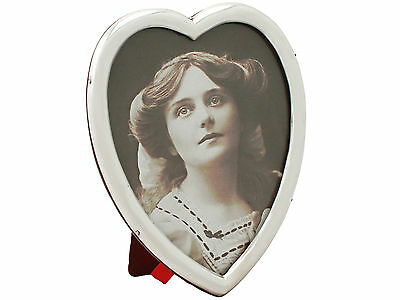 Sterling Silver Photograph Frame - Antique Victorian - 1898