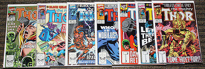 Marvel Thor # 419-425 The Black Galaxy Saga COMPLETE SET -
