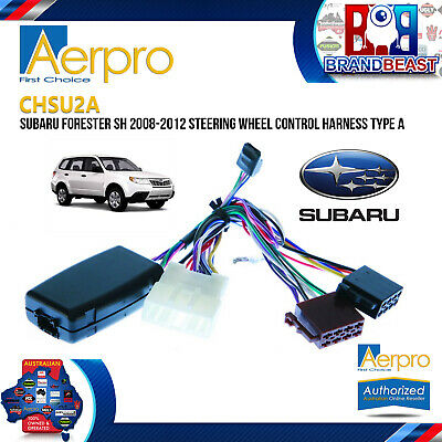 Subaru Forester Sh 2008 To 2012 Steering Wheel Control Harness Type A Interface