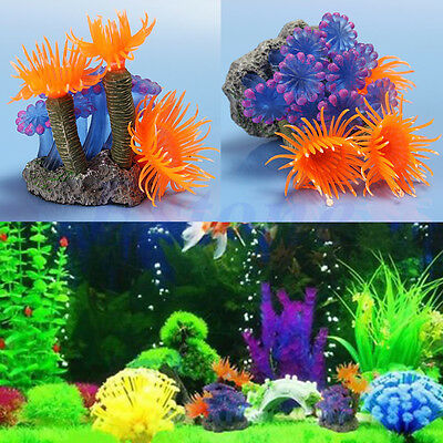 New Artificial Resin Coral for Underwater Ornament Aquarium Fish Tank Decoration