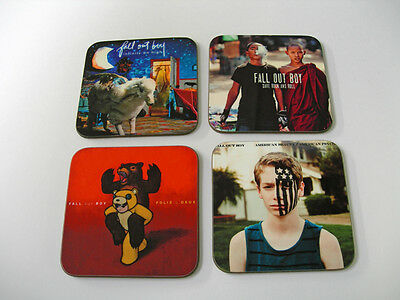 Fall Out Boy Album Cover Drinks COASTER Set