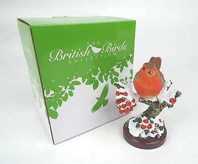 Atlas Editions British Birds Collection - Robin 4600101 -  13cm Height (CP51)