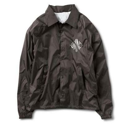 Diamond Supply Co. Monogram Coach Jacket Black