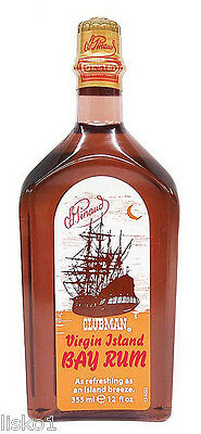 Pinaud Clubman VIRGIN ISLAND BAY RUM After Shave Lotion 1-12 oz.