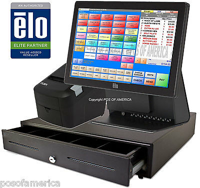 pcAmerica POS System RPE ELO Restaurant Bar Bakery All-in-one Station  NEW