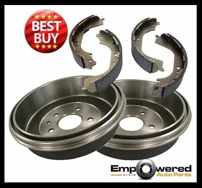 Nissan Patrol 4WD GU Y61 1998 onward REAR BRAKE DRUMS + BRAKE SHOES RDA6807 PAIR