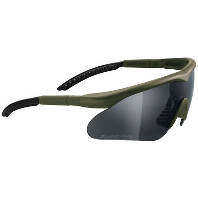 Tactical Ballistic Safety Army Glasses Sunglasses Impact Raptor 3 Lenses Olive