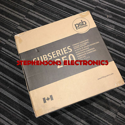 """2019 BrandNew PSB Speakers Subseries 250 10"""" Subwoofer ( Replace Subseries 200 )"""